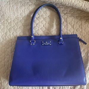 Royal Blue Kate Spade Tote bag